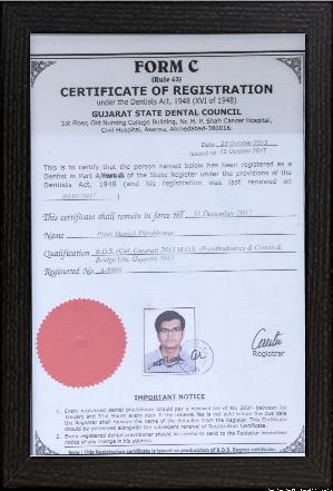 Dr.Manish Patel – BDS